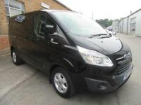 2017 Ford Transit Custom 290 LIMITED LR DCIV 170PS AUTO Diesel black Automatic