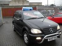 Mercedes-Benz ML270 2.7TD auto CDI 7 SEATER