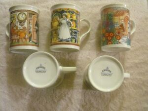 SET OF 5 SADLER WILLINGTON COFFEE MUGS Sarnia Sarnia Area image 7