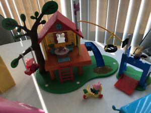 Peppa Pig Playsets and game