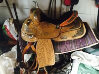 "15"" barrel saddle"