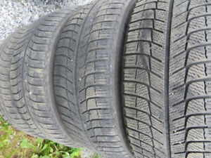 4 p215/55r17 michelin xice severe snow rated