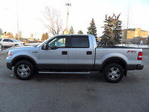 2004 Ford F-150 FX4 * Sunroof* Leather* Tow Pkg* Chrome steps*