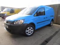 VW VOLKSWAGEN CADDY MAXI VAN C20 2011 1.6 TDI 102 BHP LWB F/S/H AIR CON VGC