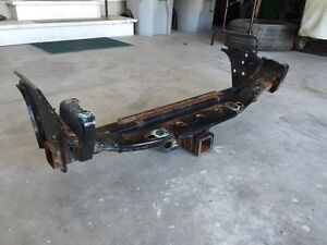 Toyota Tacoma trailer hitch and bumper mount.