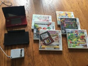 Nintendo 3DS - with games and charger EXCELLENT GIFT IDEA