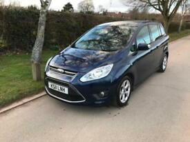 Ford Grand C-MAX 1.6 ( 125ps ) 7seats 2011 Zetec, Petrol, 45000 Miles
