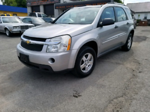 2007 CHEVROLET EQUINOX LS SAFETY AND E-TESTED