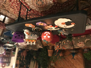 Halloween decorations and accessories