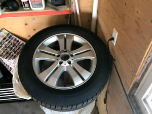 Mercedes GL wheels and tires