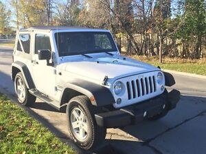 2015 Jeep Wrangler Sport Automatic -Low Kms!