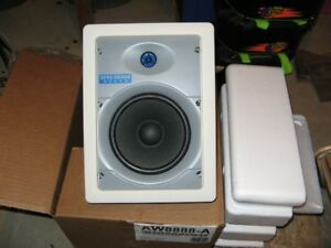 One Pair of Brand new In-wall speakers