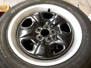 Hankook winter tires on 18 inch rims