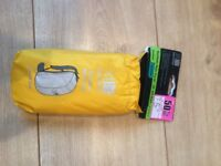 New yellow waterproof rucksack cover
