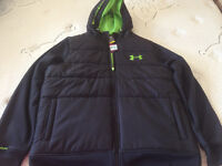 """Men's Under Armour Zip Up Jacket """"New With Tag"""""""