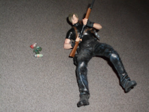 Resident Evil 4 Leon Kennedy figure by NECA