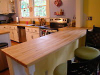 Solid Wood Butcher Block Counter Tops From $179.99!!!