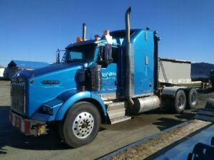 Original Owner 2007 Pre-Emission T800 Kenworth Lowbed Tractor