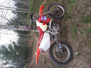 Cr 250 bore over  trade for a race quad preferably a banshee