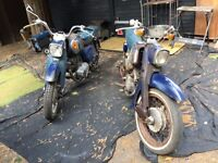 Barn find two Honda C95s £550