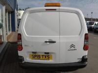 2015 Citroen BERLINGO 625 LX L1 75PS HDI VAN *LOW MILES* Manual Small Van