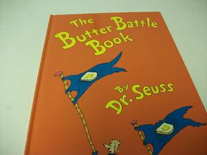 DR. SEUSS   THE BUTTER BATTLE BOOK