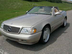 2000 Mercedes-Benz SL-Class SL500 Sports Package Convertible