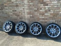 BMW MV2 Alloy wheels with tyres