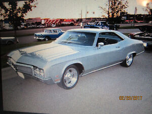 """WANTED!!! 1970 """"RIVIERA GS """" 455"""