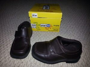 Boy's Size 8.5 Dark Brown Dress Shoes for Sale!