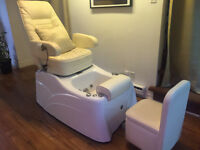 MOVING SALE* Spa Pedicure Chair