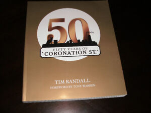 """""""50 Fify Years of Coronation St"""" REDUCED TO $10.00"""