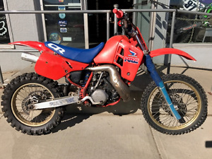 1987 HONDA CR500R RUNS GREAT  $2495.00
