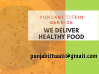 HOMEMADE PURE VEG/ Punjabi Thali Tiffin  $160, Free Delivery