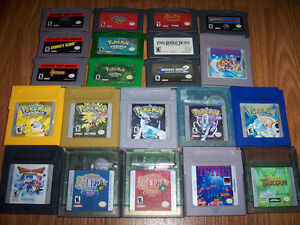 Game Boy / Gameboy Color ( GBC ) / Gameboy Advance ( GBA ) Games