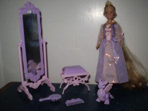 Barbie Princess Mini Kingdom, Rapunzel Doll.