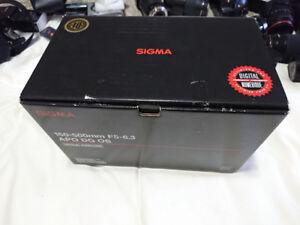 SONY SIGMA 150-500MM F5-6.3 APO DG OS