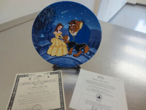 Beauty and The Beast Disney Plate