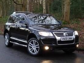 2008 58 Volkswagen Touareg 2.5TDI auto Altitude..FACTORY BODYKIT..HIGH SPEC !!