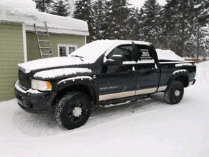 Dodge ram cummins 2500hd 4x4