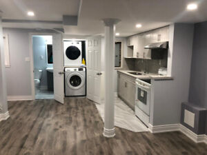 BASEMENT FOR RENT - One Bedroom