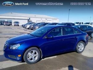 2013 Chevrolet Cruze LT   - trade-in - sk tax paid - local - OnS