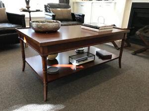 Bernhardt Coffee Table by Martha Stewart