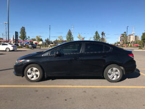 2013 Honda Civic LX Sedan||LOW KMs||Super Clean||Pre-certificate