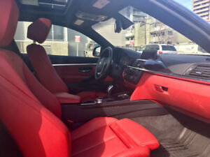 2014 BMW 4-Series (38,000 km)Red Leather Interior