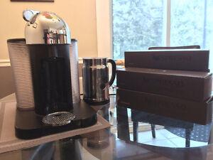 NÉGOCIABLE, Nespresso vertuoline + aeroccino mousseur à lait