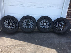 Drag wheels 18 inch 5*114.3 ( good condition ready to mount)
