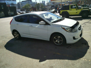 2012 accent.  Want gone
