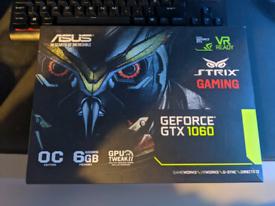 Asus strix GTX 1060 6GB