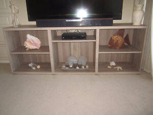 nice modern TV stand entertainment unit  with adjustable shelves